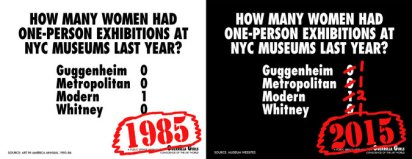 Guerrilla Girls 2015