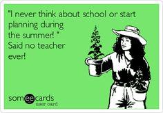 Summer Living, Teacher-Style
