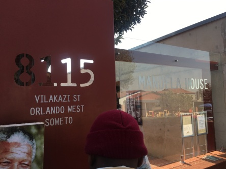 Mandela House - Entrance