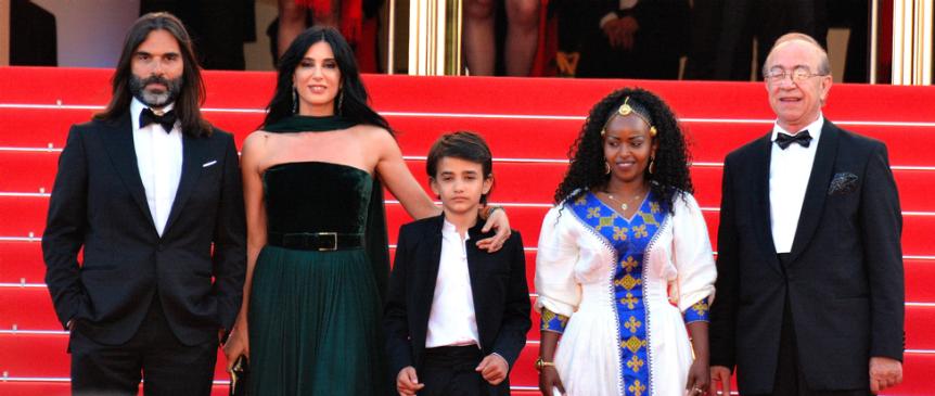 Capernaum crew at Cannes